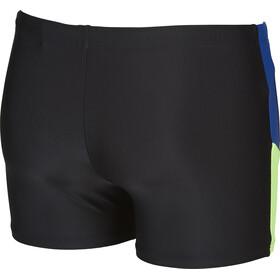 arena Ren Pantalones cortos Hombre, black-royal-shiny green